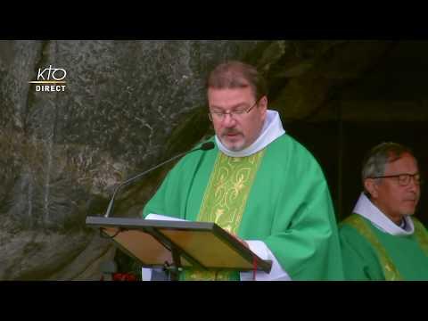 Messe à Lourdes du 1er Juillet 2020
