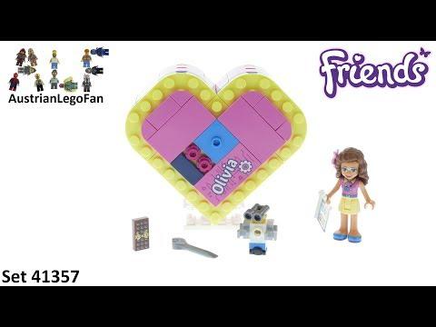 Vidéo LEGO Friends 41357 : La boîte cœur d'Olivia