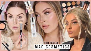 Full Face Using MAC COSMETICS! 💖 Bebe Rexha Inspired Soft Glam Makeup!