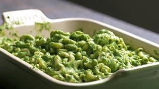 Green Mac & Cheese