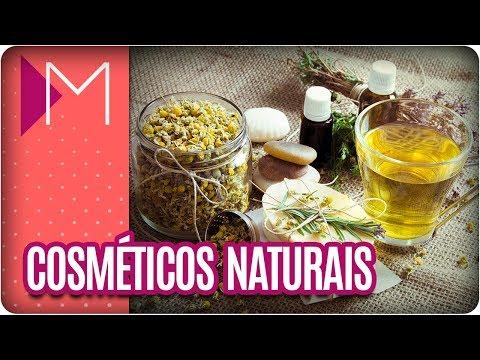 Cosméticos naturais - 1