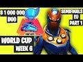 Fortnite World Cup Week 6 Highlights Semifinal EU Duo Part 1 [Fortnite Tournament 2019]