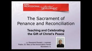 Sadlier Webinar: The Sacrament of Penance and Reconciliation