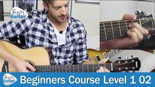 SECOND Chord to learn on guitar - A major chord - Beginners Lesson 2