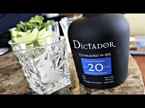 Dictador Aged 20 Year Rum Review