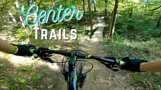 Center Trails Hillside and Rollercoaster!