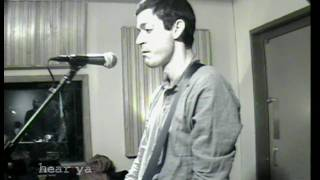"""A.A. Bondy - """"Mightiest Of Guns"""" - HearYa Live Session 11/21/09"""