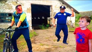 Hello Neighbor -Ульяна и Захар спасли Привет Соседа от Полицейского