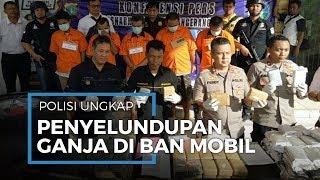 Polisi Ciputat Amankan 79,5 Kilogram Ganja di Sukabumi, Modus Disimpan dalam Ban