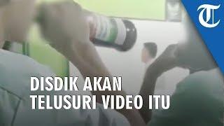 Viral Video Siswa Diduga Tenggak Miras saat Jam Pembelajaran, Disdik Jakarta Utara Beri Tanggapan
