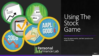 Using The Stock Game In Your Classes