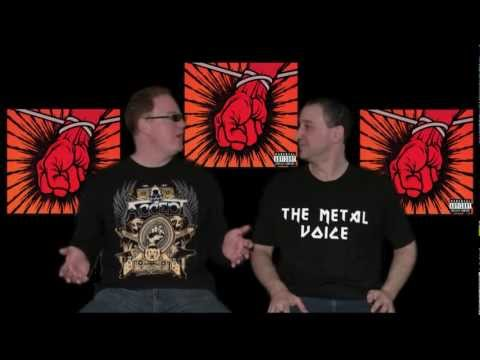 Metallica St-Anger album review- Worst Heavy Metal Albums-The Metal Voice