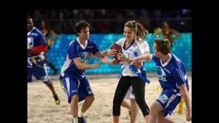 Нина Добрев и Йен Сомерхолдер, Ian Somerhalder and Nina Dobrev - Celebrity Beach Bowl 2013