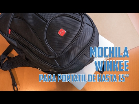 Mochila Winkee para portátil de hasta 15'' (Mod. SA9399)