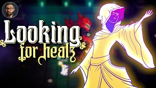 Youtube thumbnail for Looking For Heals Review | Unique roguelite MMOlike