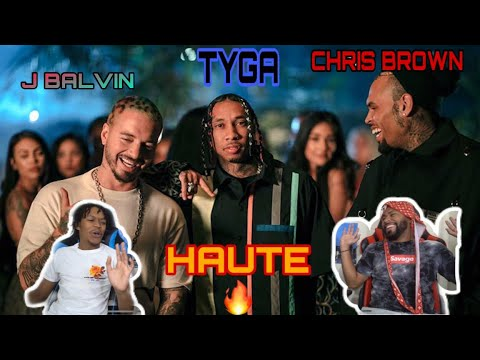TYGA !!! 🗣 SOULJA BOY VOICE TYGA - Haute (Official Video) Ft. J Balvin, Chris Brown | FVO Reaction - FVO