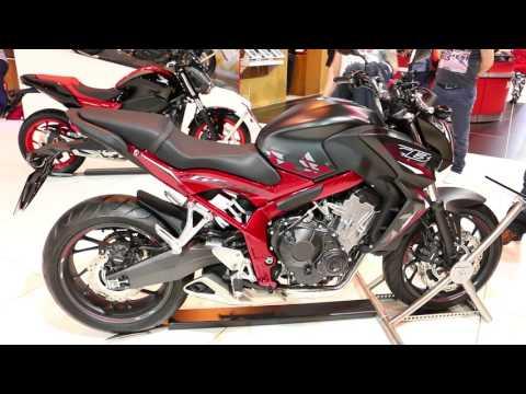 2016 Honda CB650F Walkaround @ Motorcycle Live 2015