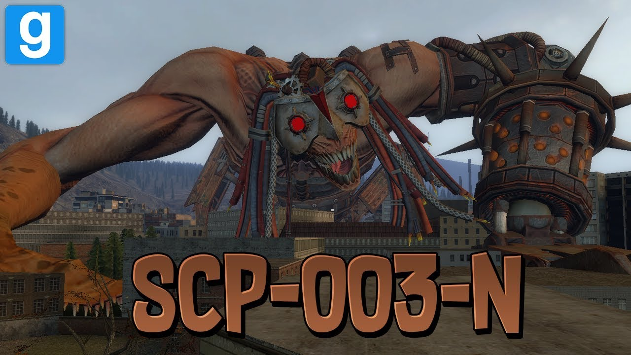 SCP RP // SCP-003-N LE JUGGERNAUT !! - Garry's Mod - YouTube