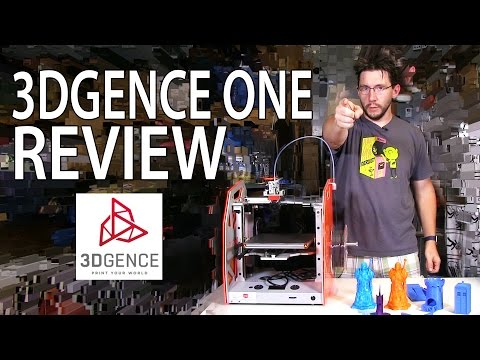 3DGence ONE #3DPrinter Review