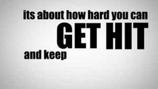 Rocky Balboa Motivational Speech - Kinetic Typography