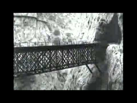 "El Caminito del Rey Path in ""Journey by Train around Andalusia"""