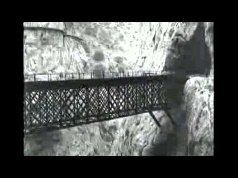"""Der Caminito del Rey in """"Eine Bahnreise durch Andalusien"""""""
