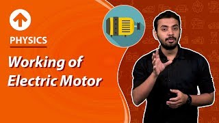 Working of Electric Motor | Electricity | Physics | Class 10