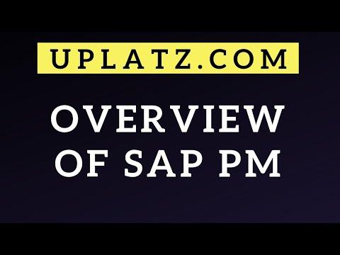Overview of SAP PM | SAP PM Training | SAP Plant Maintenance ...
