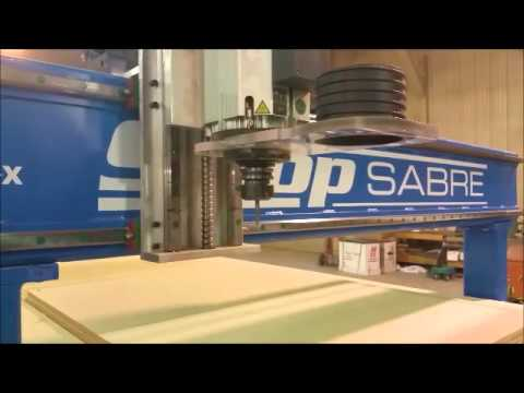 ShopSabre CNC – CNC Router – NEW Dust Skirtvideo thumb