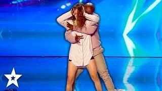 Emotional Dance Against DOMESTIC VIOLENCE on Got Talent France   Got Talent Global