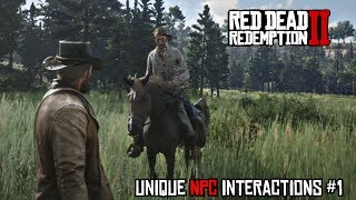 Unique NPC Interactions & Quotes Ep.1 - Hunting Deer & Melee Combat | Red Dead Redemption 2