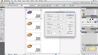 Automatic Business Cards in Illustrator