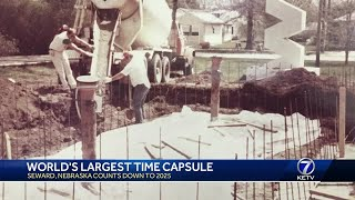 World's largest time capsule in Seward