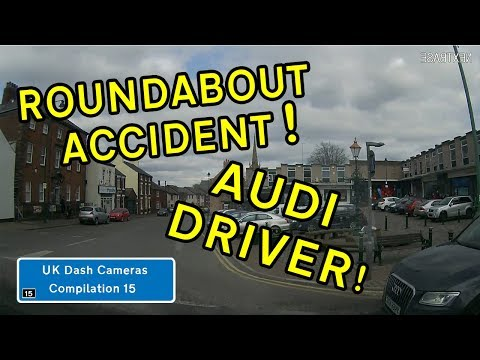 UK Dash Cameras - Compilation 15 - 2018 Bad Drivers, Crashes + Close Calls