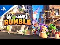 Worms Rumble Launch Trailer Ps5 Ps4