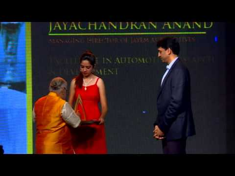 J Anand - Jaguar & RITZ Excellence Awards