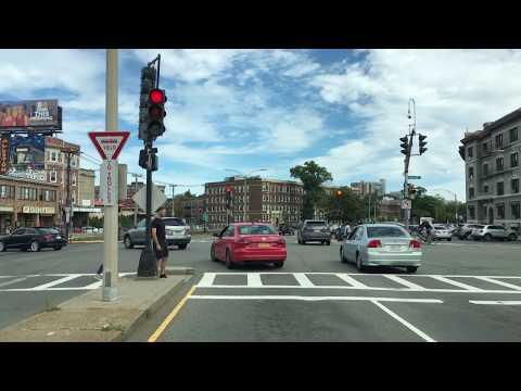 Drive 4K - Boston Streetcars - USA