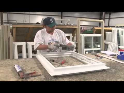 A video tour of our window and door manufacturing plant.