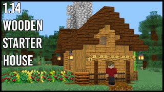 How To Make A Minecraft 1 14 Starter Base Minecraftvideos Tv