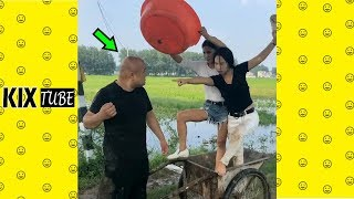 Watch keep laugh EP321 ● The funny moments 2018