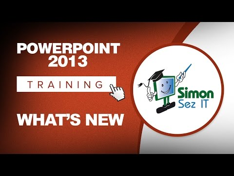 Microsoft PowerPoint 2013 Training - What's New - YouTube