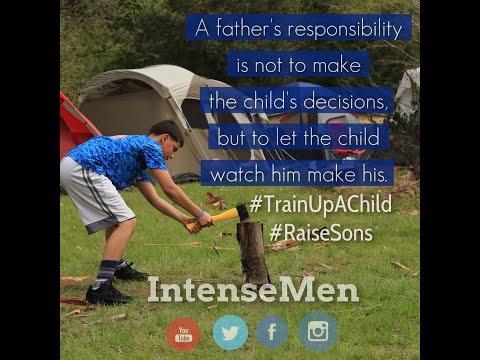 #WeAreTheAnswer Raising Sons @IntenseMen...