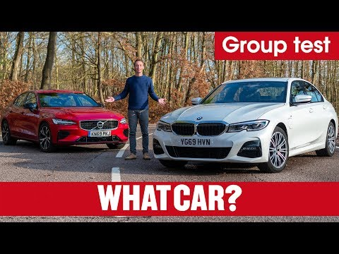 2020 BMW 3 Series 330e vs Volvo S60 T8 review –which is the best plug-in hybrid? | What Car?