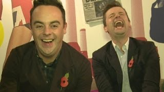 Ant and Dec interview: Duo on One Direction in the jungle and being godparents for Simon Cowell