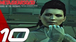 Metal Gear Solid 4 - Gameplay Walkthrough Part 10 - Screaming Mantis Boss Fight [1080p HD]