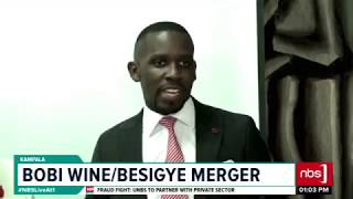 Bobi WineBesigye Merger| NBS Live At 1 News Bulletin 8th May 2019