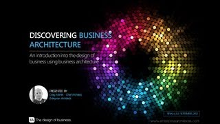 Business Architecture Webinar