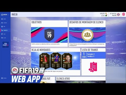 Fifa 19 web app!!!! - смотреть онлайн на Hah Life