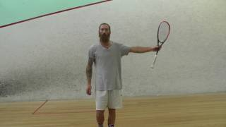 Squash - Forehand Technique