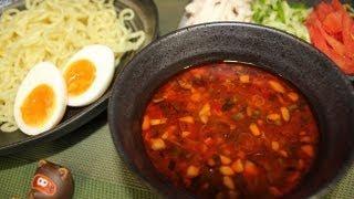 Howtomakespicydippingnoodleピリ辛なつけ麺